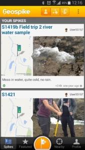 geospike screengrab