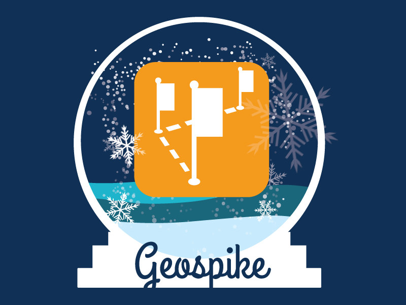 Geospike globe